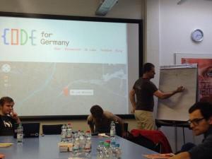 Gründungsveranstaltung von Code for Munich