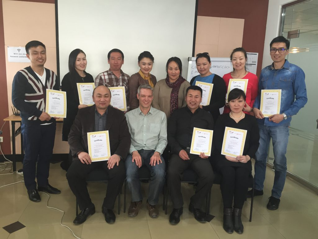 GIZ-Journalistentraining in der Mongolei