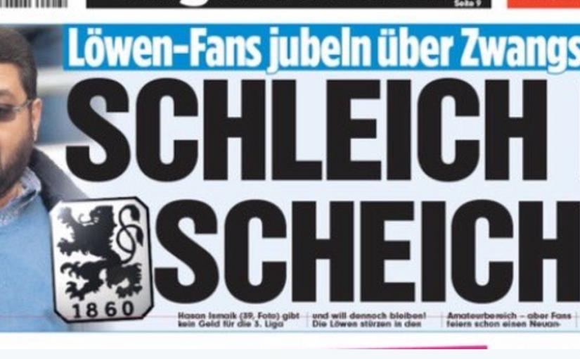 TSV 1860 München: Die Medien sind ein ständiger Unruheherd
