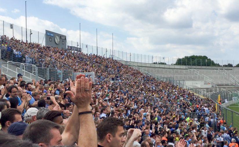 Im Grünwalder Stadion ist der TSV 1860 eine Macht